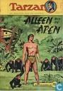 Strips - Tarzan - Alleen bij de apen