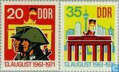 Mur de Berlin 1961-1971