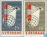 1966 Erste Fernsehsendung Suriname (SU 109)