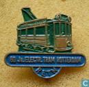 60 jr Electr. Tram Rotterdam [groen-blauw]