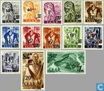 Print franc mark in 1947