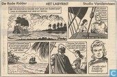 Comic Books - Red Knight, The [Vandersteen] - Het labyrint