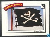 Pirates ahoy! / At half mast!