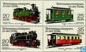 Spoorwegen DDR. Treinen