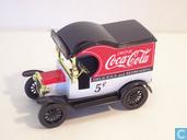 Modelauto's  - Gearbox - Ford Model-T Van '5¢ Coca Cola'
