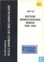 Deutsche Zwangzuschlagsmarken 1948-1954