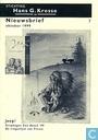 Bandes dessinées - Stichting Hans G. Kresse nieuwsbrief (tijdschrift) - Nieuwsbrief oktober 1999