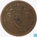 Belgium 2 centimes 1833 (coinalignment)