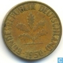 Germany 10 pfennig 1950 (G)