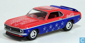 Voitures miniatures - Johnny Lightning - Ford Mustang 'Coca-Cola'
