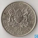 Kenia 50 cents 1977