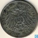 Pruisen 5 mark 1901