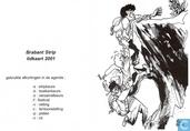 Brabant Strip lidkaart 2001