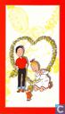Suske en Wiske - Bob et Bobette (Valentijnskaart)