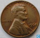 Verenigde Staten 1 Cent 1968