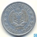 Albanië 50 qindarka 1969