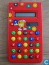 M&M's calculator rood (LCD)
