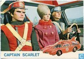 Spectrum patrouille voertuig met Captain Scarlet