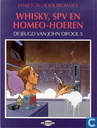 Comic Books - John Difool - Whisky, spv en homeo-hoeren