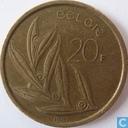 Monnaies - Belgique - Belgique 20 francs 1981 (NLD)