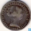 Espagne 1 Real 1853