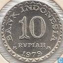 Indonesië 10 rupiah 1979