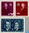 1943 Prince Franz Josef II et Gräfin Gina mariage (LIE 47)