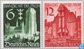 1939 imprint stamps Danzig (DR 147)