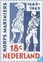 Postage Stamps - Netherlands [NLD] - 300 years Marine Corps