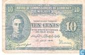 Malaya 10 Cents