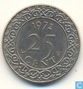 Suriname 25 Cent 1972