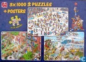 3 X puzzles