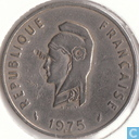 French Afar and Issaland 50 francs 1975