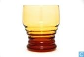 3185 met ringen Waterglas amber 180 ml 82 mm