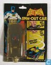 Batmobile spin-out car
