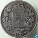 France 2 francs 1827 (T)