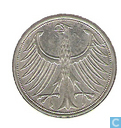 Coins - Germany - Germany 5 mark 1967 (J)