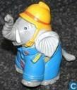 Benjamin Blümchen as a fireman