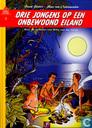 Drie jongens op een onbewoond eiland