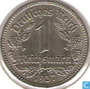 Monnaies - Allemagne - Empire allemand 1 reichsmark 1937 (D)
