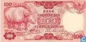 Indonésie 100 Rupiah 1977