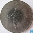 Italië 50 lire 1964