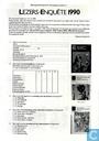 Lezers-enquête 1990
