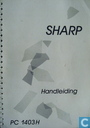 Sharp PC-1403H handleiding