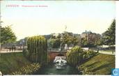 Waterwerken bij Sonsbeek