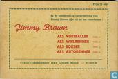 Comic Books - Jimmy Brown - Jimmy Brown als autorenner