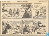 Comic Books - Red Knight, The [Vandersteen] - Drie huurlingen