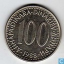 Jugoslawien 100 Dinara 1988