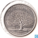 "United States ¼ dollar 1999 (P) ""Connecticut"""