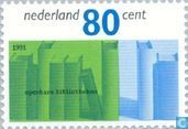 Postage Stamps - Netherlands [NLD] - Libraries 1791-1991